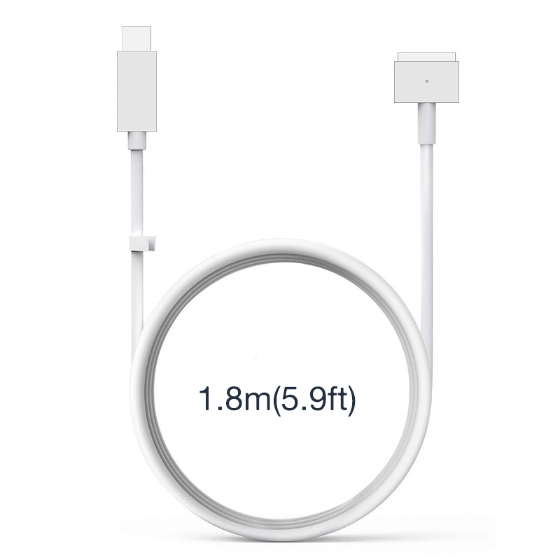 USB-C to MagSafe 2 Connector Cable, Fit for 20V Apple Macbook